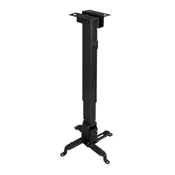 SOPORTE TECHO VIDEO-PROYECTOR TOOQ 10KG 16-65CM INCLINABLE NEGRO