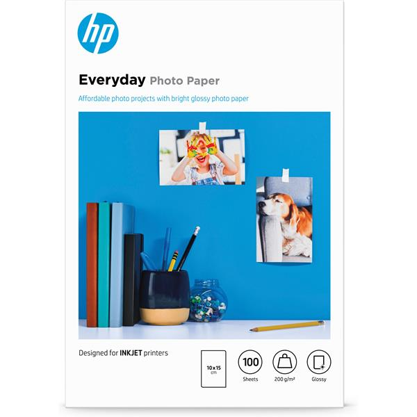 HP Paper/Everyday Glossy Photo 100 10x15