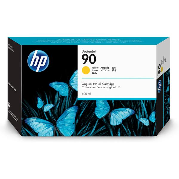 HP Ink Cart/No 90 yellow 400ml
