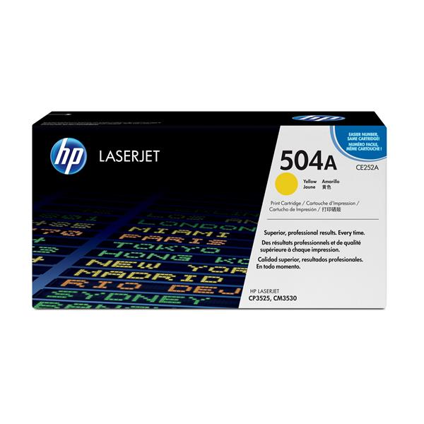 HP Toner/Yellow Cartridge ColorSphere