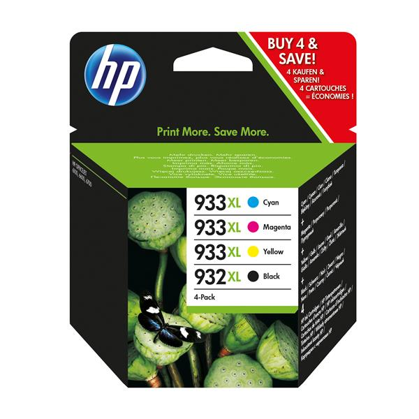 PACK CARTUCHOS HP 932XL Y HP 933XL C/M/A