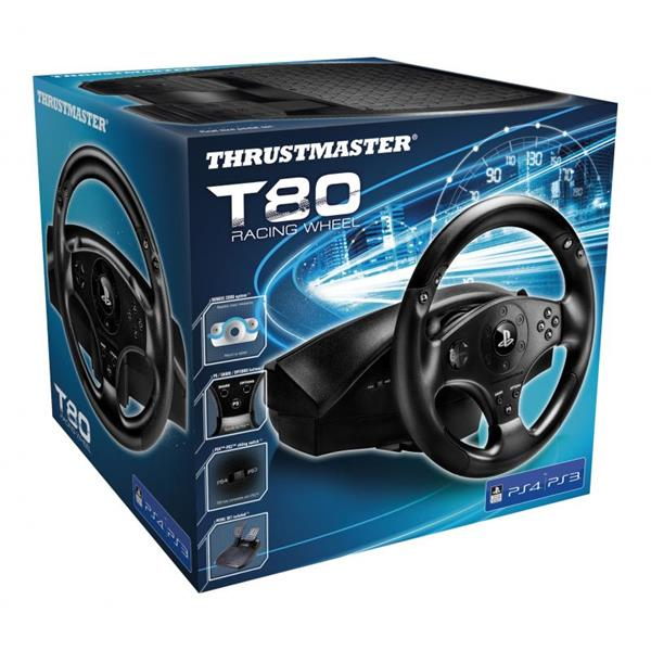 VOLANTE + PEDALES THRUSTMASTER T80 RACING WHEEL PS3 / PS4