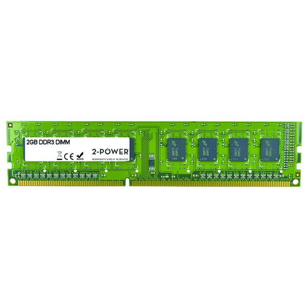 2 Power Memoria DDR3 2GB 1333MHz DR DIMM