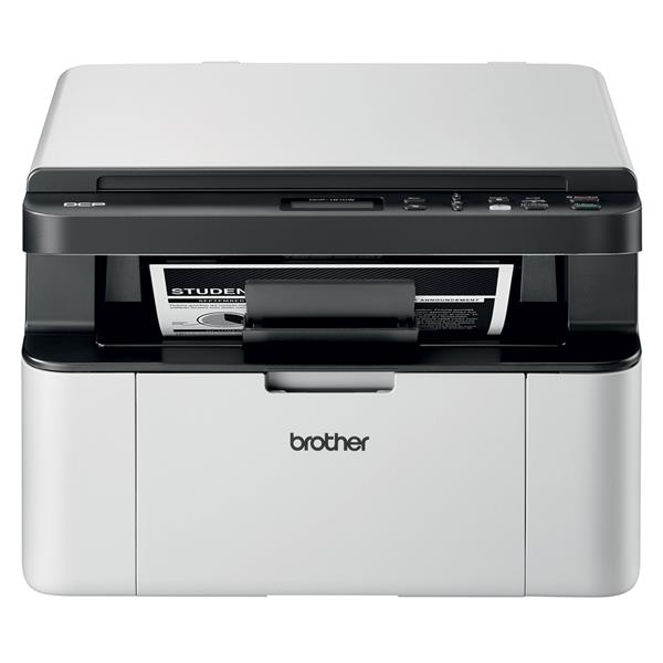 BROTHER DCP1610W - Impresora, WIFI, LCD, Laser, Blanco / Negro
