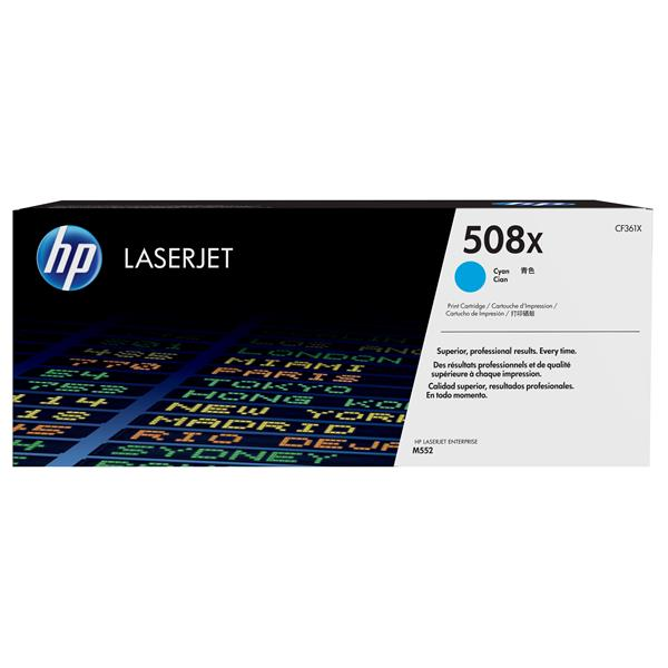 TONER CARTRIDGE 508X CYAN