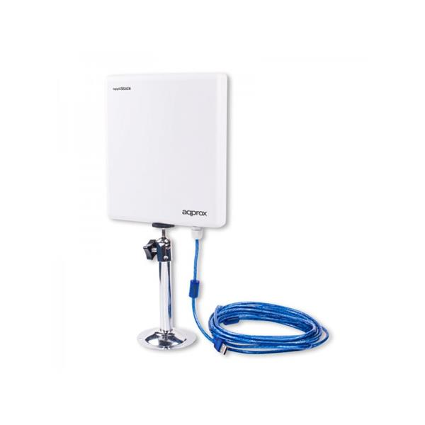 TARJETA DE RED INAL. APPROX USB2.0 150MBPS 2W ANT. EXTERIOR 26DBI