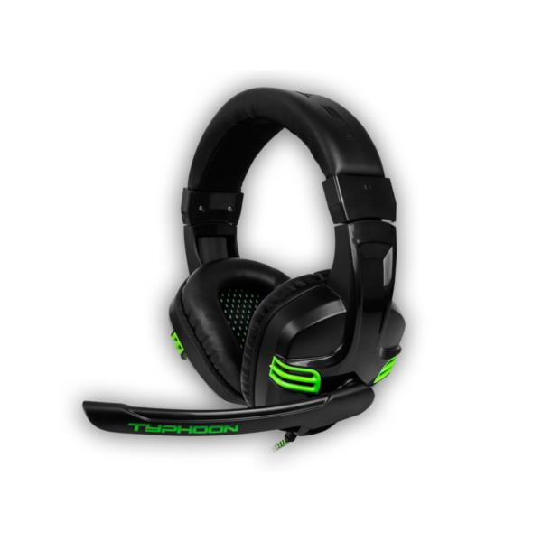 AURICULARES + MICRO B-MOVE TYPHOON PC/PS4/XONE NEGRO