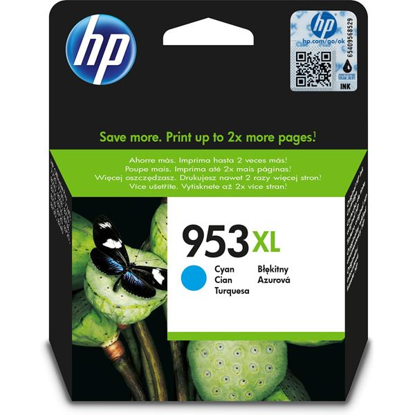 HP Ink/953XL High Yield Original Cyan