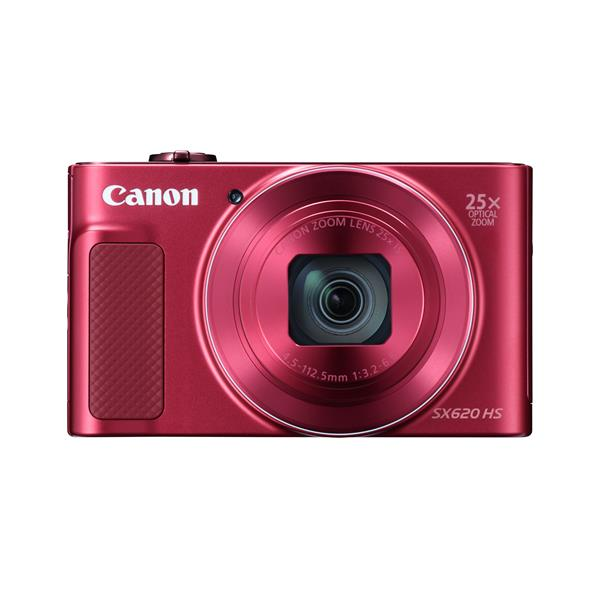 POWERSHOT SX620 HS 20.2MP 25XOPT 3IN 45MB RED IN