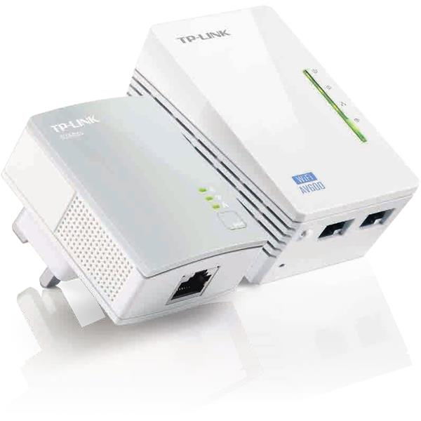 KIT 2 ADAP. HOMEPLUG 300MBPS TP-LINK TL-WPA4220KIT + WIFI N