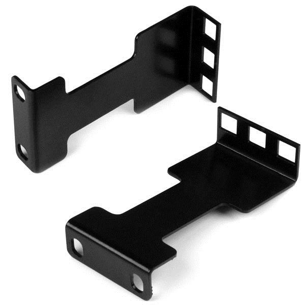 10 CM RACK EXTENDER - 1U RACK RACK DEPTH ADAPTER BRACKETS- 1U