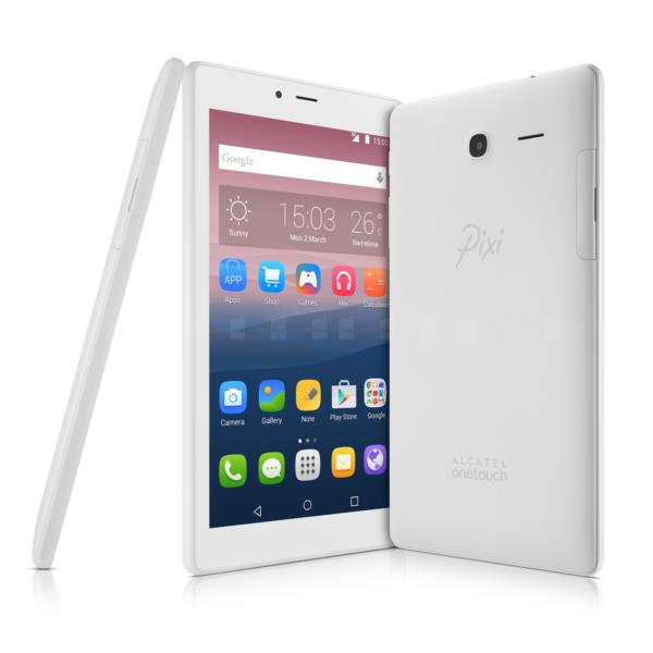 "ALCATEL PIXI 4 / 7"" / 8GB / RAM 1GB / COLOR BLANCO"