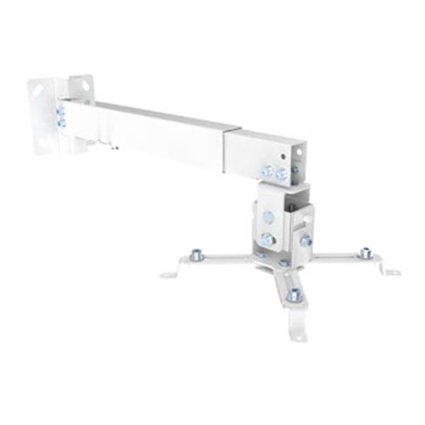 SOPORTE DE PROYECTOR EQUIP INCLINABLE  PARA TECHO O PARED  430-650MM HASTA 20KGS COLOR BLANCO