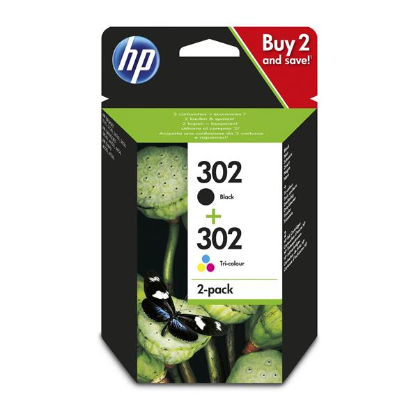 INK CARTRIDGE 302 COMBO PACK