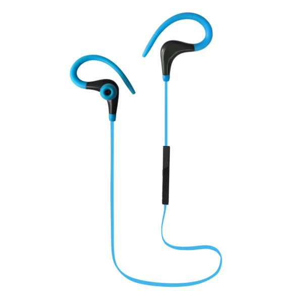AURICULARES + MICRO COOLBOX COOLSPORT AZUL