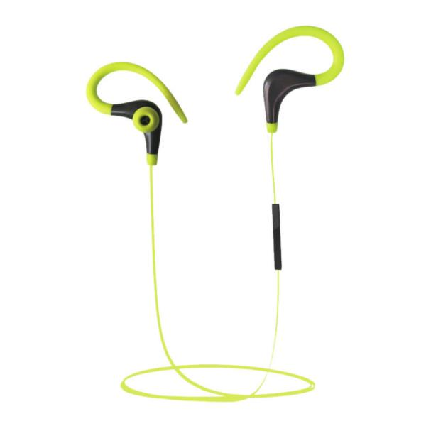 AURICULARES + MICRO COOLBOX COOLSPORT AMARILLO