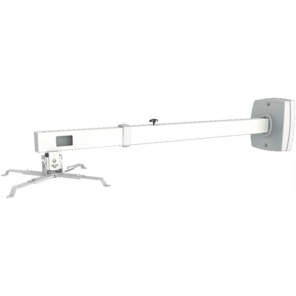 Soporte pared video proyector approx 10kg 85 135cm blanco - Soporte pared proyector ...