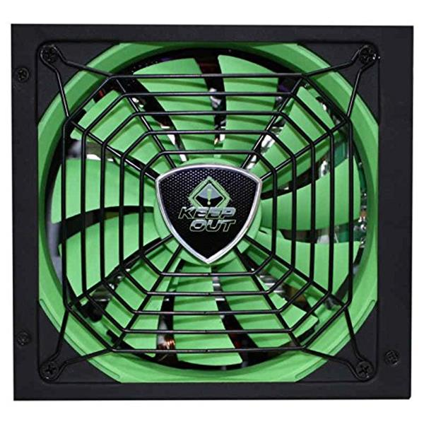 FUENTE ALIMENTACION 800W KEEP OUT GAMING VENT. 14CM PFC 80+
