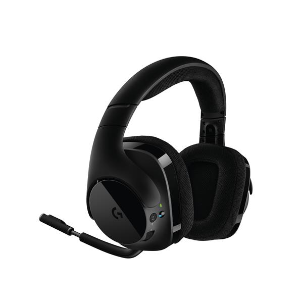 AURICULARES + MICRO LOGITECH G533 WIRELESS 7.1 GAMING