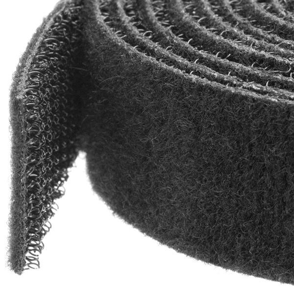 7.6 METER CUT-TO-SIZE HOOK AND LOOP CABLE TIE - BULK CABLE T IE