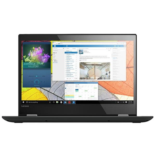 "LENOVO YOGA 520-14IKB - Portátil, Intel Core i5-7200U 2.3GHz, 8GB RAM,256GB SSD, 14"" HD Táctil, Windows 10, Negro"
