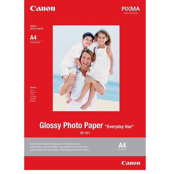 PHOTO PAPER GLOSSY GP-501 A4 20