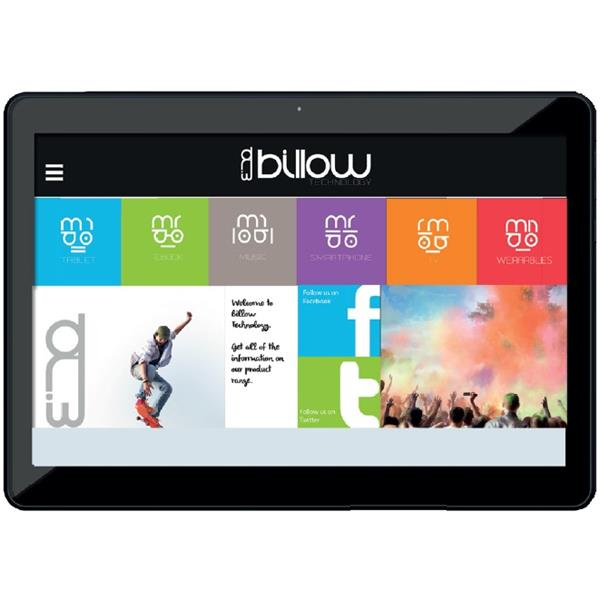 """Tablet BILLOW -  10.1"""", 1280x800px, IPS, 1GB, Android 7.1, Blanco"""