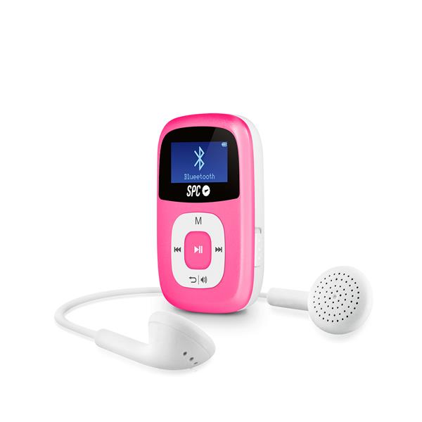 REPRODUCTOR MP3 SPC FIREFLY 8GB ROSA