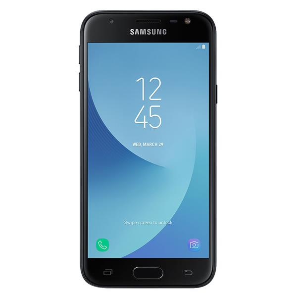 "SAMSUNG GALAXY J3-2017 5"" / 4G / QUAD CORE 1.4GHZ / 2GB RAM / 16GB / ANDROID 7.0 / COLOR NEGRO"