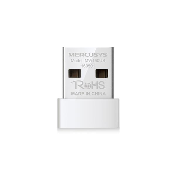 ADAPTADOR RED MERCUSYS MW150US USB2.0 WIFI-N/150MBPS NANO
