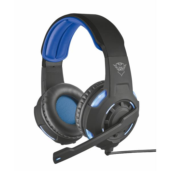 AURICULARES TRUST GAMING GXT 310 RADIUS 7.1 SORROUND - ALTAVOCES ACTIVOS 40mm - CABLE 250CM PC 22052