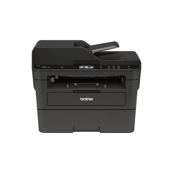 "BROTHER MFCL2750DW - Impresora Multifunción, Laser Monocromo, FAX, WIFI, 34ppm, LCD 2.7"", Negro"