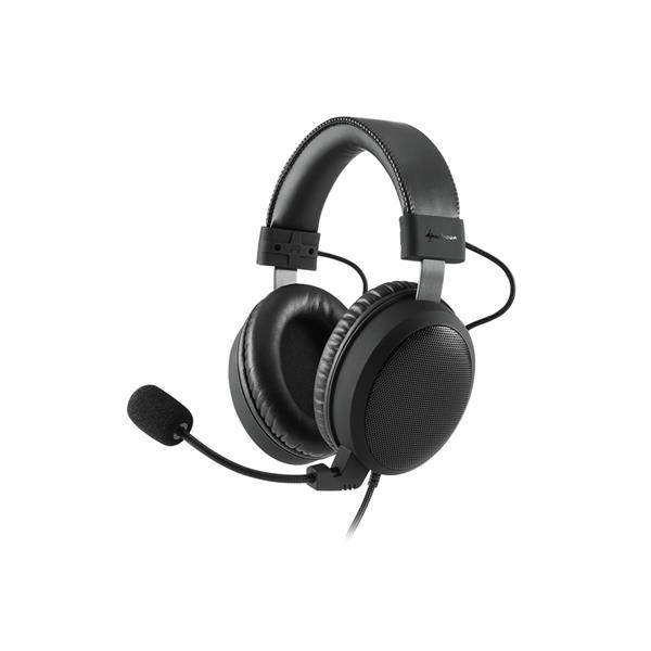 AURICULARES GAMING SHARKOON B1 NEGRO MICROFONO ALAMBRICO