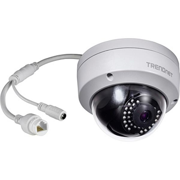INDOOR/OUTDOOR 1MP 720P POE IR DOME NETWORK CAMERA NTSC IN