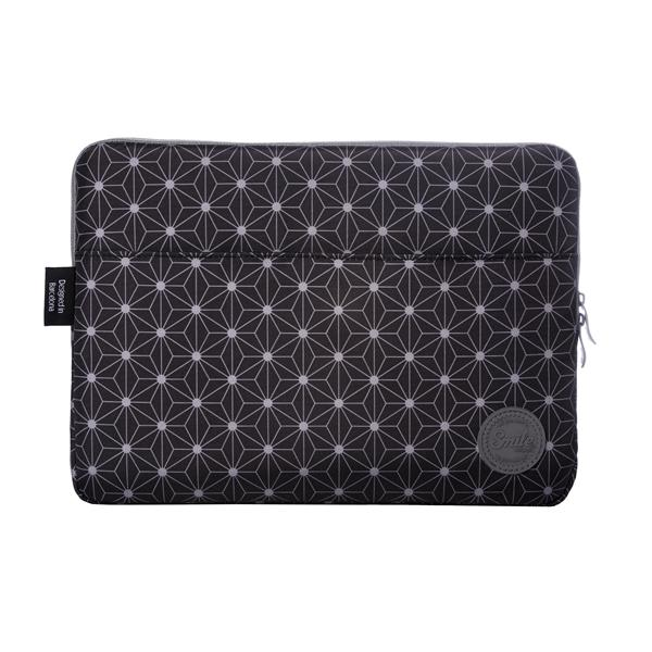 "FUNDA PORTATIL SLEEVE 13"" NEGRO/GRIS SMILE"