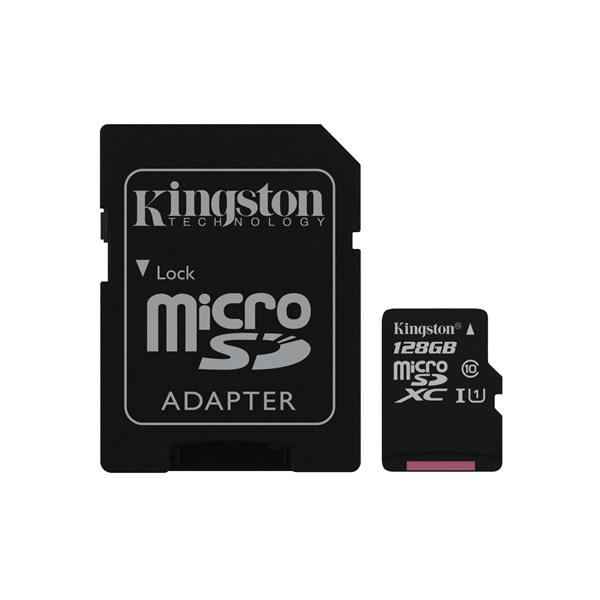 Micro SDXC KINGSTON – 128 GB