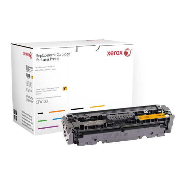 HIGH YELLOW TONER HP 410X OEM CF412X M377 M452 M4 77