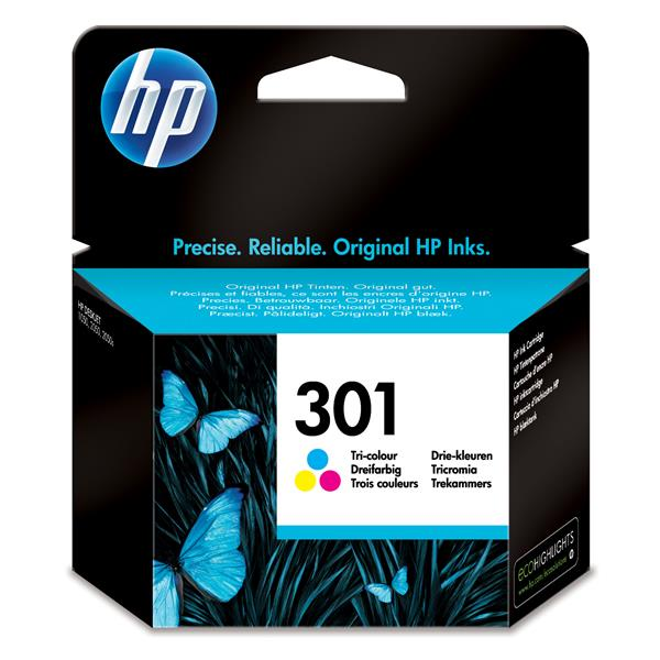 Blister/HP 301 Tri-color Ink Cartridge