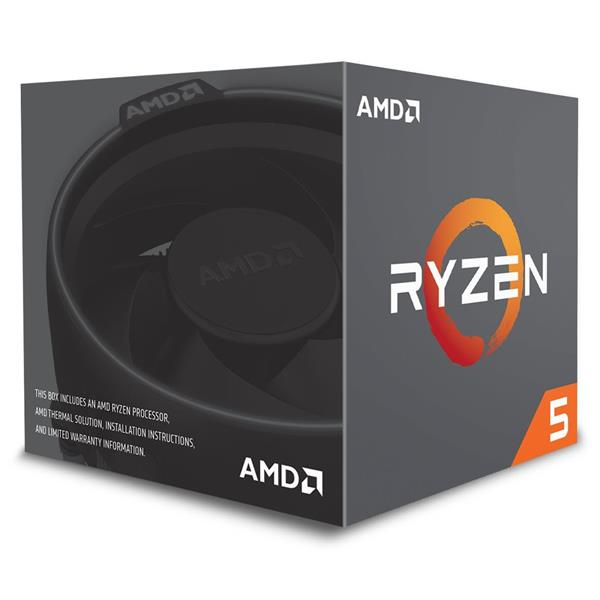 PROCESADOR AMD RYZEN 5 2600 3.4GHZ SKT AM4