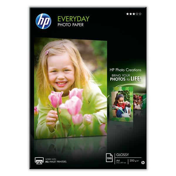 EVERYDAY PHOTO PAPER HP A4 100