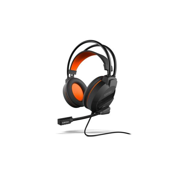 AURICULARES + MICRO KROM KHAMI ADVANCED STEREO GAMING