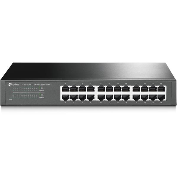 SWITCH TP-LINK TL-SG1024S 24-PORT GIGABIT DESKTOP/RACKMOUNT SWITCH