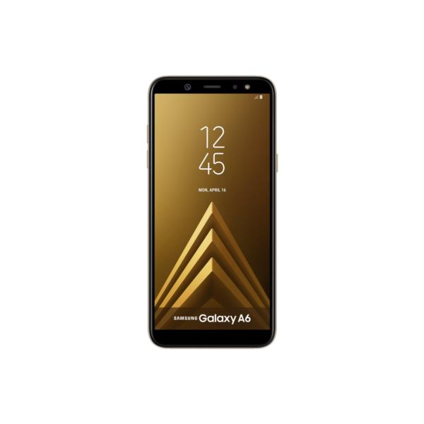 "SAMSUNG GALAXY A6 2018 - Smartphone, 5.6"", 4G, Octa Core 1.6GHz, 3GB RAM, 32GB, Android 8.0, Oro"