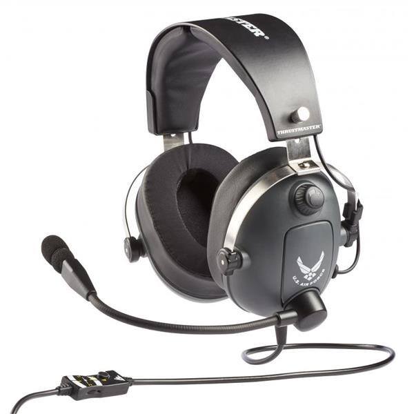 THRUSTMASTER AURICULARES + MIC T-FLIGHT US AIR FORCE EDITION (4060104)