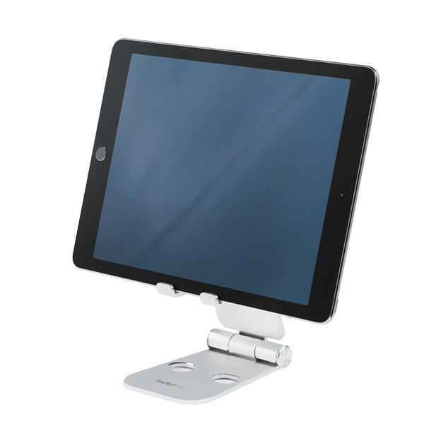 SMARTPHONE AND TABLET STAND PORTABLE AND FOLDABLE - ALUMIN UM