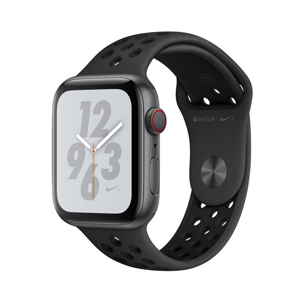 WATCH NIKE+ SERIES 4 GPS+CELL 44MM SPACEGREY ALUM BLK NIKE BND IN