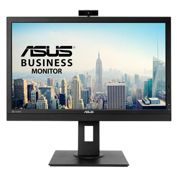 """MONITOR ASUS 24"""" BE24DQLB, FHD,1920X1080, IPS, DP, HDMI, DVI-D, D-SUB, WEBCAM WITH MIC ARRAY, MINI-PC MOUNT KIT, FLICKER FREE, LOW BLUE LIGHT, TUV CER"""