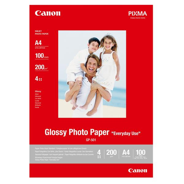 GP-501 A4 Paper/photo glossy 100sh
