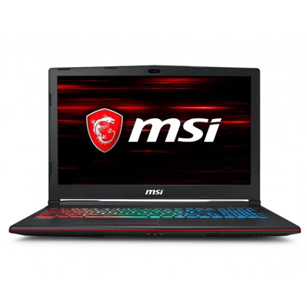 MSI GP63-665XES i7-8750H 16GB 256+1TB 1060 DOS 15