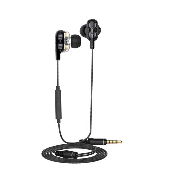 AURICULARES COOLBOX COOLJOIN D.DRIVE INTRAUDITIVOS NEGRO